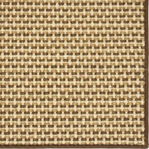 Basketweave Sisal Neutral Tri Color